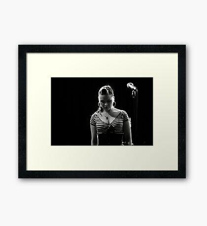 Taking A Moment Framed Print