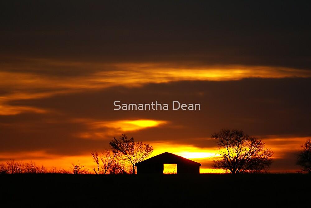 Country Sunrise by Samantha Dean