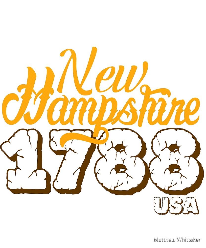 New Hampshire 1788 USA  by Matthew Whittaker