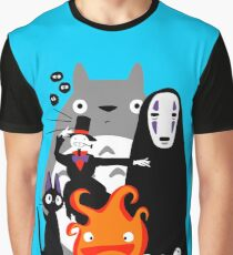 Camiseta gráfica Ghibli'd Lejos