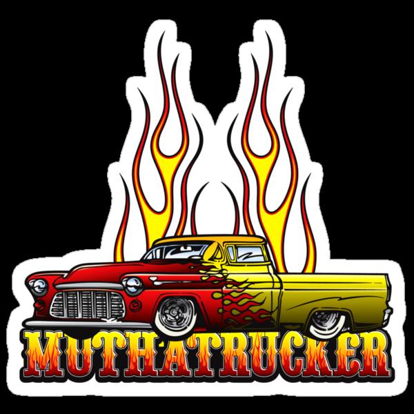 Mutha Trucker by Rob Stephens