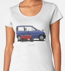 City R & Motocompo (Blue & Red) Women's Premium T-Shirt