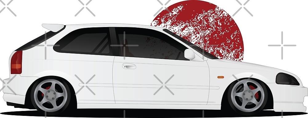 Honda Civic by SavkyDesign