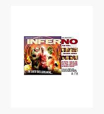 Inferno Movie Poster Photographic Print