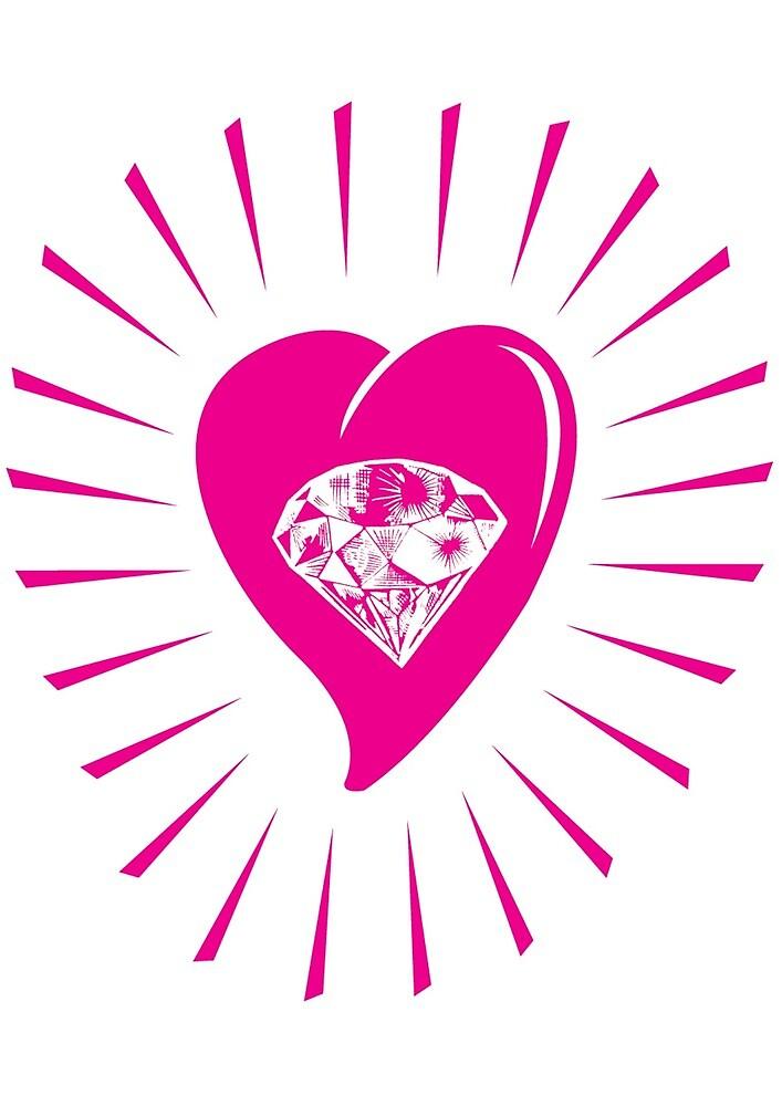 Love as diamond by Yiama