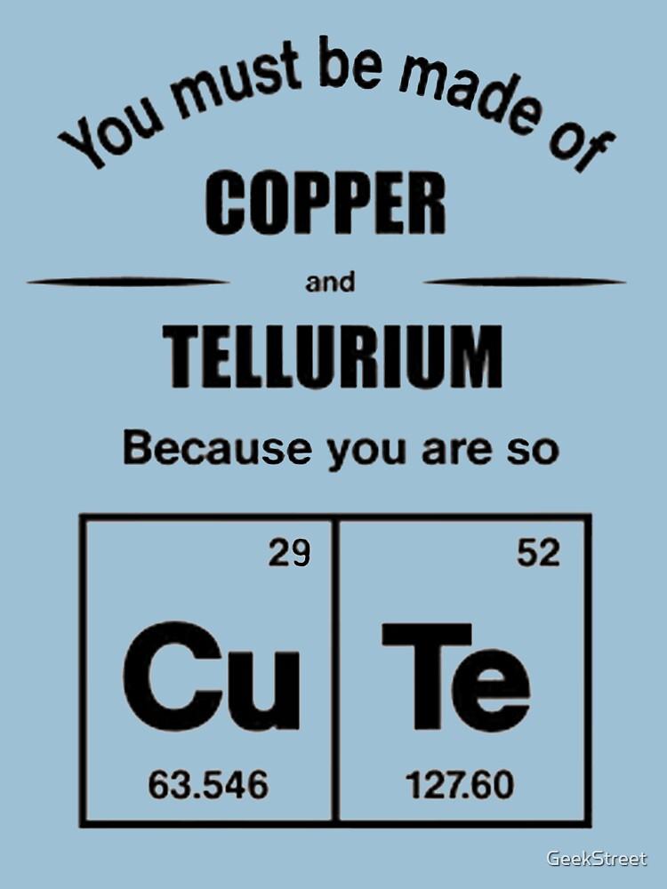Cute fun chemistry periodic table joke unisex t shirt by geekstreet cute fun chemistry periodic table joke by geekstreet urtaz Choice Image
