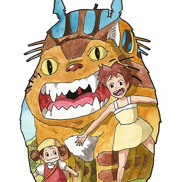 A part of the Ghibli world by josecabreraart