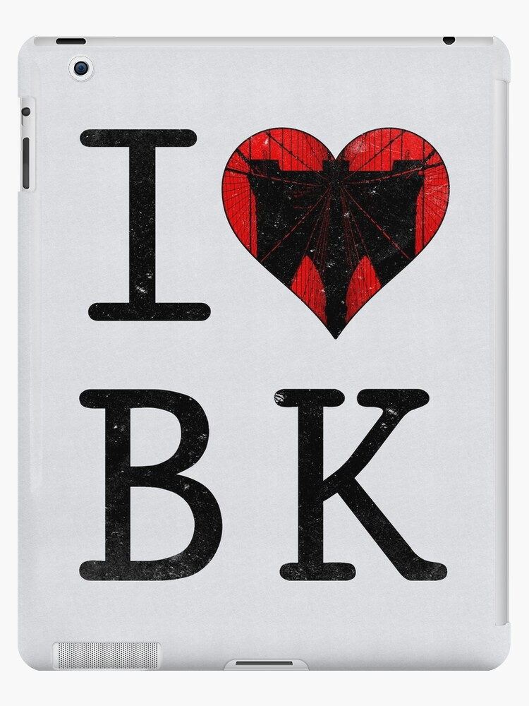 I Love Brooklyn New York Nyc Bk Ipad Cases Skins By Iconyc