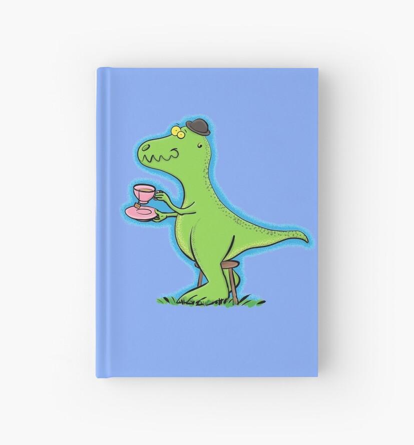 Cuadernos De Tapa Dura T Rex Dinosaurio De Dibujos Animados