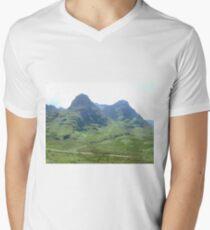 Glencoe, Scotland Men's V-Neck T-Shirt