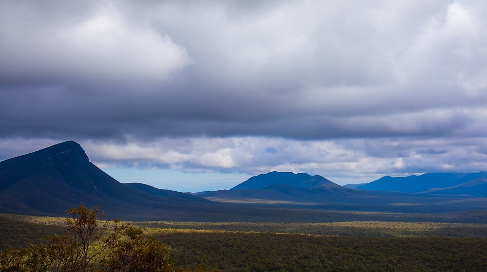 Bluff Knoll and the Stirling Ranges by cbromell