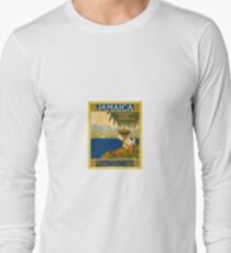 Jamaica The Gem Of The Tropics Vintage Travel Poster 1910 Long Sleeve T-Shirt