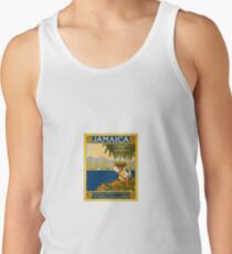 Jamaica The Gem Of The Tropics Vintage Travel Poster 1910 Tank Top