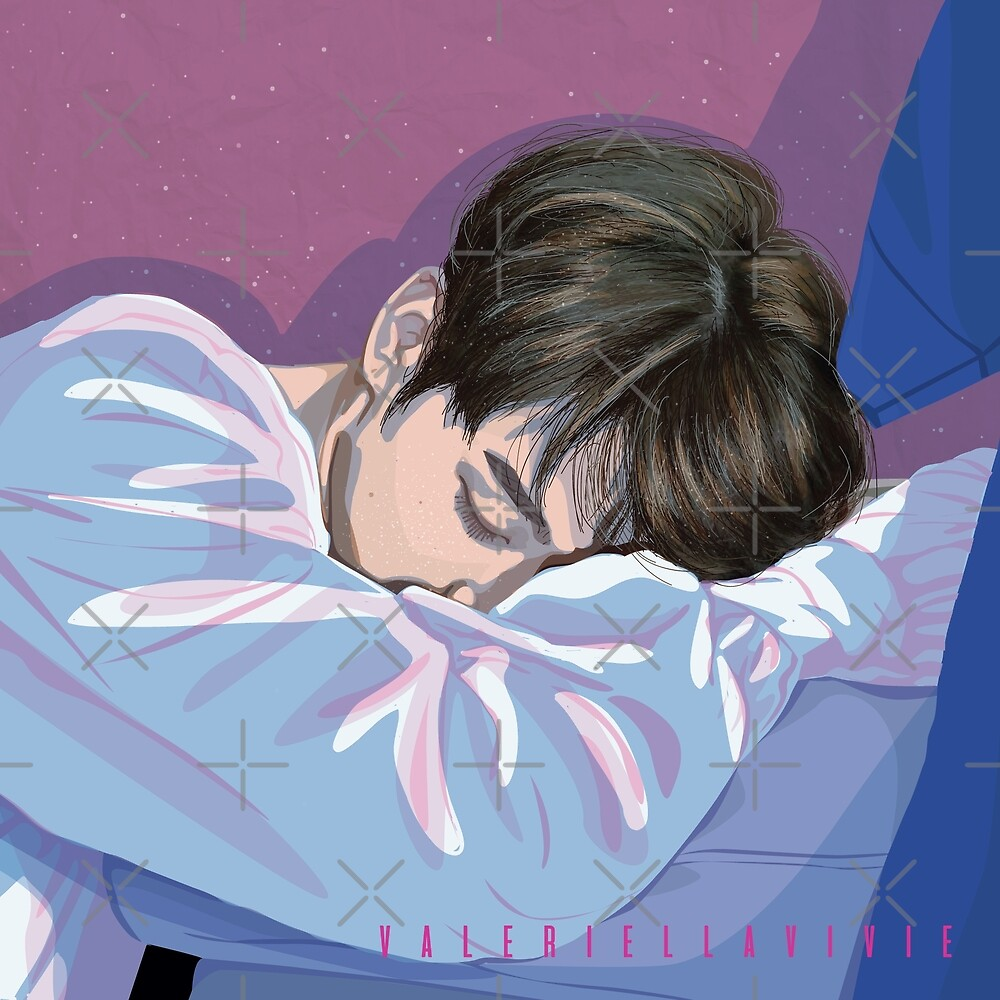 Sleeping bunny - BTS Jungkook by valeriellavivie