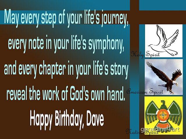 Spiritual birthday card by geraldine4art – Spiritual Birthday Card