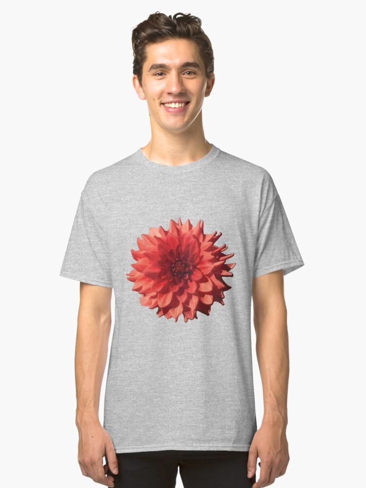 Dahlia Classic T-Shirt Front