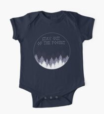 Stay Out of the Forest One Piece - Short Sleeve