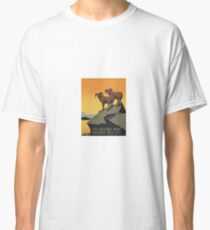 Vintage Travel Poster National Parks America USA Classic T-Shirt