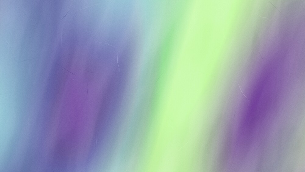 Lime Purple Soft & Warm Watercolour by Alexander Nedviga