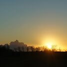 A spring sunset by CiaoBella