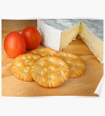 Crackers 'n cheese Poster