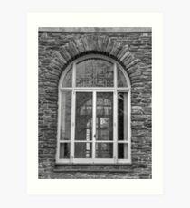 Hayfield House, Window Detail Art Print