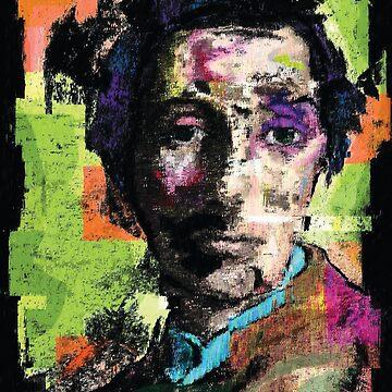 Edgar Degas. A Portrait by Brett Sixtysix.  by brett66