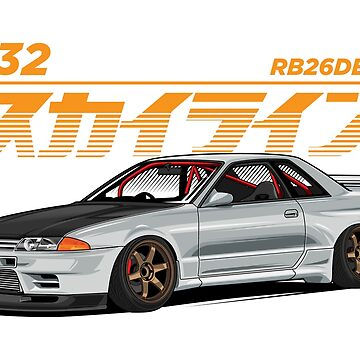 Skyline R32 by hafisdesign