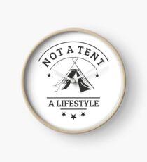 not a tent a lifestyle kohte Clock