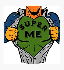 Super me Photographic Print