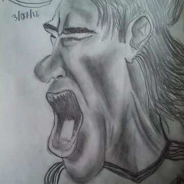Falcao Cartoon by danbrobro