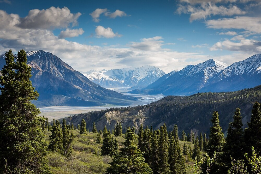 Kluane National Park and Reserve of Canada by simbamerch