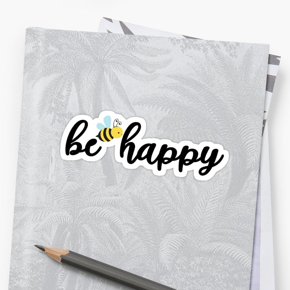 be happy by mklantzy