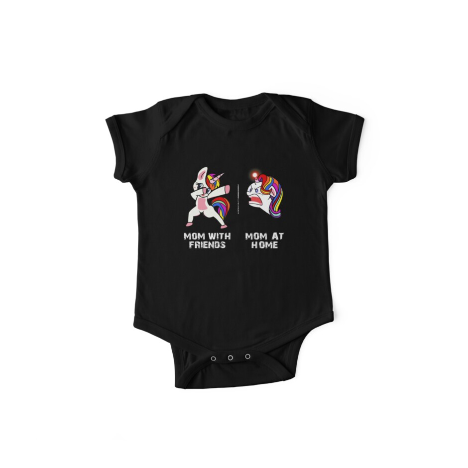 b6b9b1b2 Cute Dabbing Unicorn Mom T-Shirt Funny Mom Shirts Mother's Day Gift ...