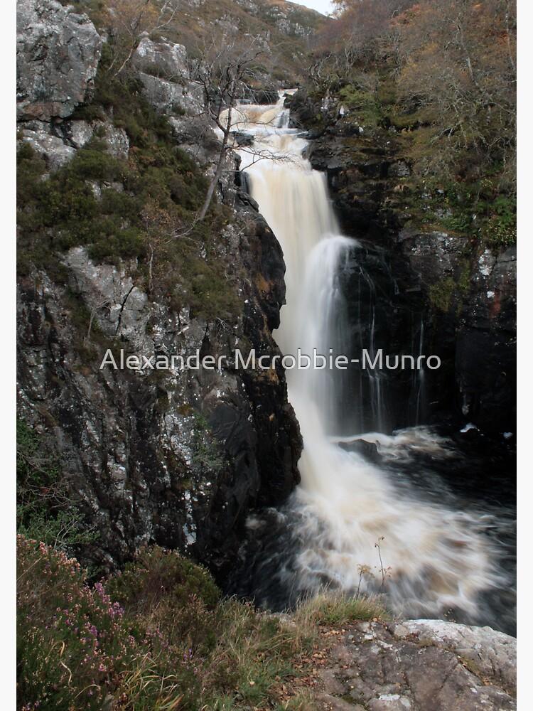 Falls  of  Kirkcaig by Alexanderargyll