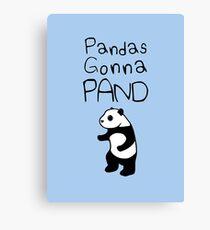 Pandas Gonna Pand Canvas Print