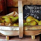 Conference Pears Sale Display by Dorothy Berry-Lound
