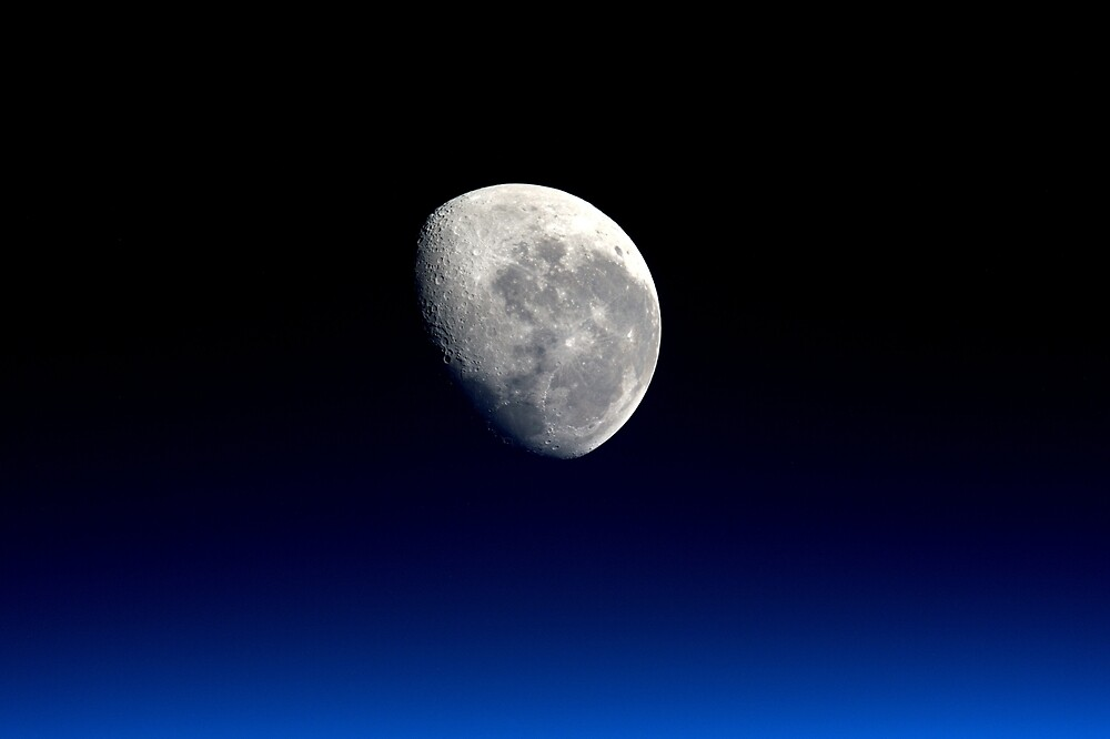 Moon close up by simbamerch
