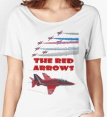 The Red Arrows T Shirt Women's Relaxed Fit T-Shirt