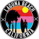 Laguna Beach California Surfing Pacific Surf Surfer 3 by MyHandmadeSigns