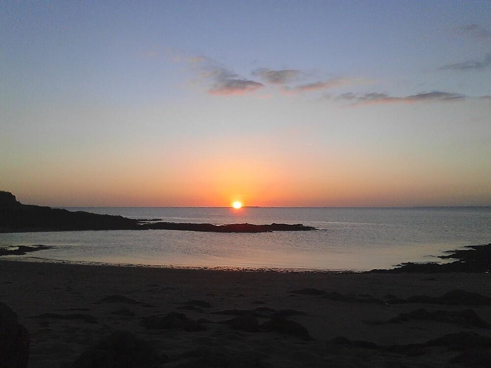 sunset by valoulavazay