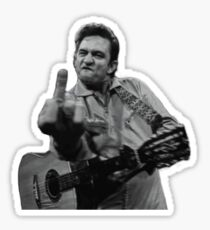 Pegatina Johnny Cash