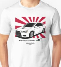 EVO X (white) Unisex T-Shirt