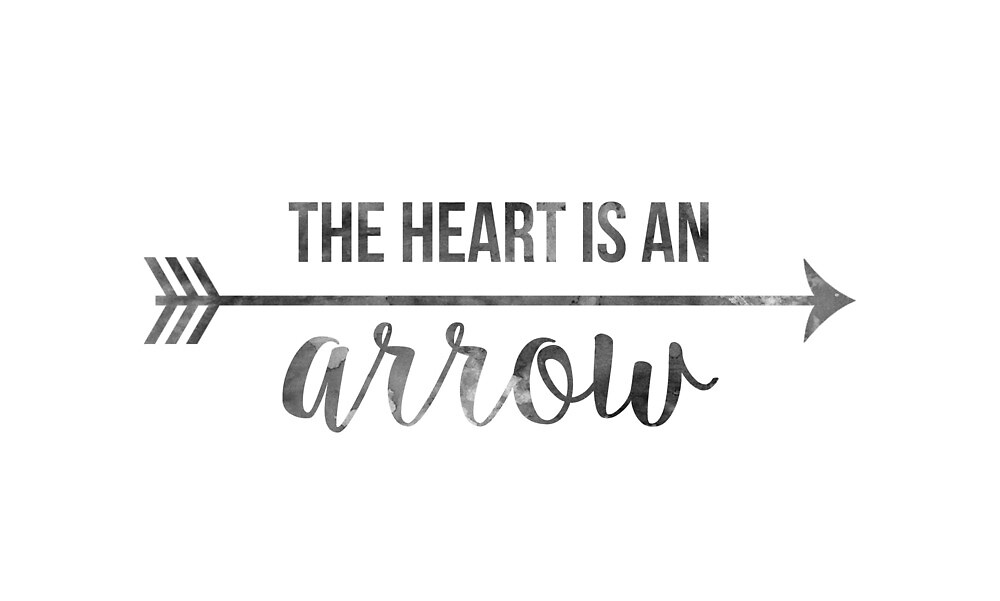 """""""The Heart Is An Arrow"""" Six of Crows Quote by teatimeturner"""