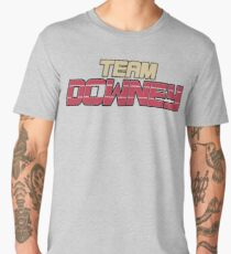 RDJ's Team Downey Grey Heathered Shirt Men's Premium T-Shirt