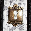Gothic Floral Keyhole Ornate Frame by cocodesigns