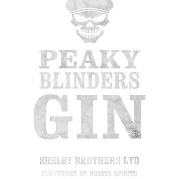 Peaky Blinders Gin by eyevoodoo