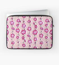 Raspberry Pink Wildflower Laptop Sleeve