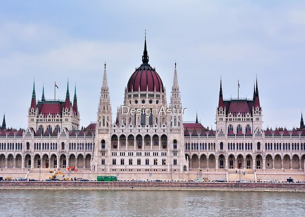 Hungarian Parliament by DesignAstur