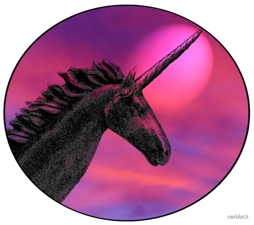 Sunset unicorn by nerblack